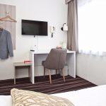 Bureau in hotelkamer